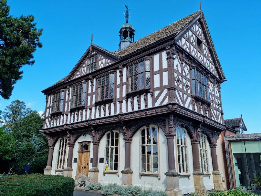 Grange Court timber framed building