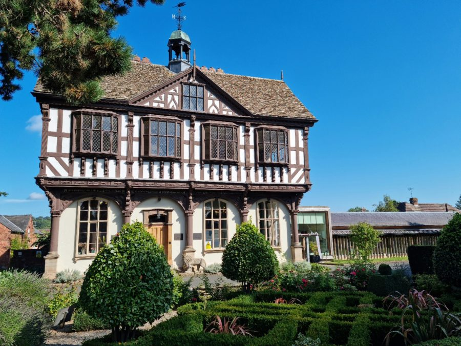 Grange Court with Knot Garden