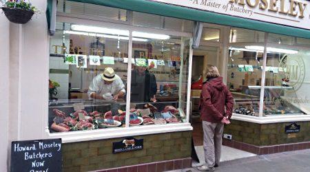Howard Moseley Butchers Shop 450x250