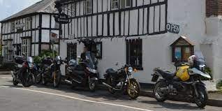 Tea Room With Bikes Outside