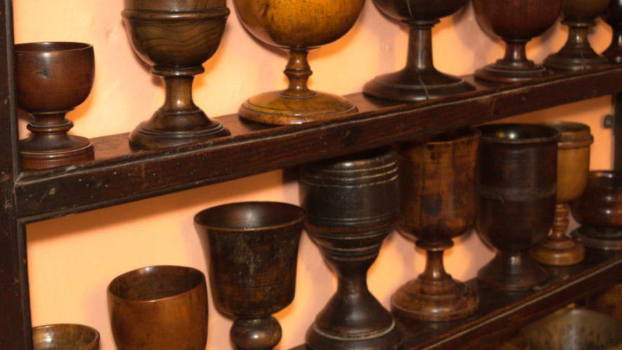 Wooden Drinking Vessels